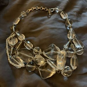 Forth & Towne (Gap) lucite statement necklace